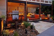 Outdoor Living Areas with Aluminum Shutters