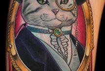 Cats Tattoos