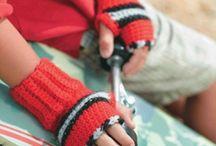 Crochet Mittens, Wristlets, Gloves, Etc. / by Kandice Hernandez