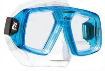 dalış gözlüğü (dalış maskesi),  deniz gözlükleri ve dalış ekipmanları / Dalış malzemeleri