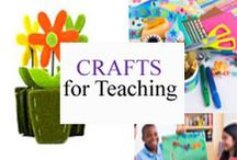 Crafts for Teaching / Crafts for teaching and learning. / by Tree Top Secret Education
