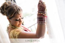 Indian Wedding Bride's Photo Shoot / The last thing a bride wants is to feel she could have had more interesting/better photos on her wedding day. Enjoy our collection of photos to inspire, share, and plan into your photo shoots. :)