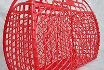 Soviet plastic basket