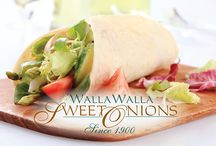 Sweet Onion Recipes / Enjoy this collection of favorite Walla Walla Sweet Onion recipes from the Pacific Northwest's premier restaurants, chefs, authors and food editors, and other sources.