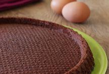 base crostata morbida  al cioccolato