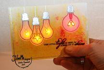 LED Lichterkarte