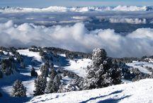 Winter Landscapes / Zimowe pejzaże / Beautiful winter landscapes, mountains & ski slopes / Piękne zimowe krajobrazy, góry i stoki narciarskie