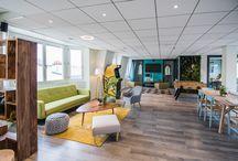 Espaces de convivialité / Confort et bien-être sur votre lieu de travail.