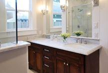 bathroom / by Carolyn Frondorf
