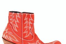 Liberty Black Cowgirl Boots / Vintage style from Liberty Black Boots / by Allens Boots