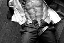 Hot guys, a little hairy / A little chest hair, anyone?
