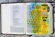Acrylic Paint Bible Journaling