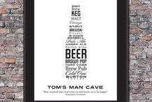 Bière et déco