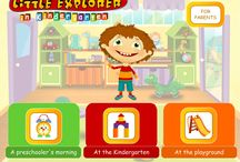 Little Explorer in Kindergarten / Skills Factory for Kids creates a new category of apps, which help children develop the social skills needed to cope with new situations they encounter in life. Skills Factory for Kids games were developed in collaboration with educators and sociologists and aim to help children to master new situations while playing. Thanks to our apps, children entering a new stage of life in the real world feel more confident, and find it easier to progress and develop.