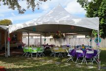 Events & Tents! / A tent isn't just used at weddings, use them for your baby shower, bridal shower and other great stuff! Check out these great examples!