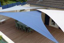 Auvents et parasols