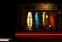 THALIA SURF SHOP / Here's a look in and outside the shop.