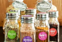 Krydderblandinger / Krydder, salt gaver