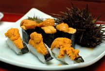 Sea Urchin (Uni) / Why sea urchin? Because our business was founded on it. We sell the finest uni product available in the US, harvested off Southern California's coastline. It's so good it was featured on Bizarre Foods America with Andrew Zimmern and is served in sushi bars as far away as Japan. Order today at catalinaop.com.