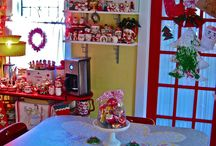 Vintage Christmas Decorating