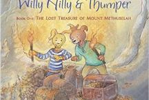 Willy Nilly and Thumper Books / The forest, mountains, and streams that surround the town of Hoop N Holler in the magical land of Choco provide a wonderful backdrop for a fun-filled collection of stories about the ongoing adventures of Willy Nilly and Thumper.