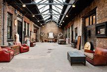 Industriální interiéry