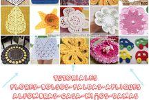 delicadezas en crochet flores a granel