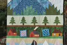 Row Quilts / Row Row your  Quilt!