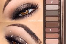 Naked palette tutorials