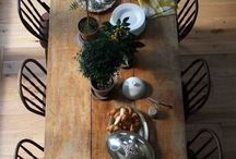 Styling:  Dining Room Table