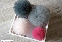 Tulle pompones