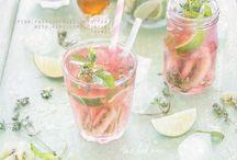 Drinks || lemonade & ice tea