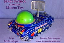 Modern Toys MT - Masudaya - Masutoku / Masudaya = The Japanese Exporter of Masutoku Tin Toys Made in Tokyo Japan
