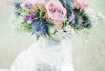 Brautstrauß/ Bouquets/ Sommer