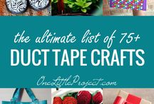 Duct Tape DIY / Amazing things to make from duct tape!