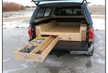 Storage boxes for bakkie