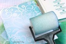 Using Brayer for Cards