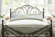 Kovácsoltvas ágy