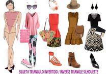 outfit para cuerpo triangulo invertido