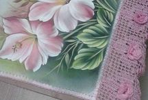 Painting flower