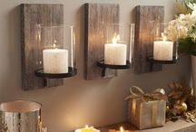 Candelabros de pared