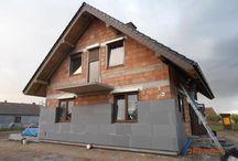 Domy w budowie / Najfajniejsze zdjęcia z budowy domów