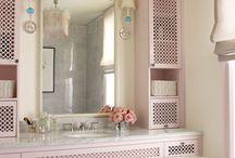 Vintage fürdő