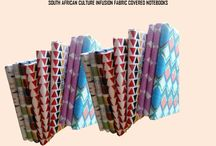 South African Culture Fusion Journal notebooks