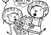 Colouring Pages for the kids
