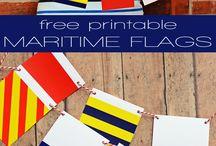 SIGNAL FLAGS / by Glenda Hopkins