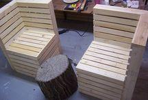 Furniture, Pallets & PVC / Cindi Austin tarafından