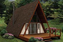 küçük ev / ağaç evler