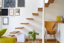 Home Inspiration / White. Wood. Minimalism. Rustic. Cabin. LOVE!