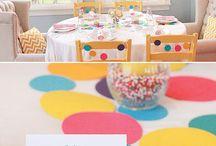 Ideas de cumpleaños y festejos